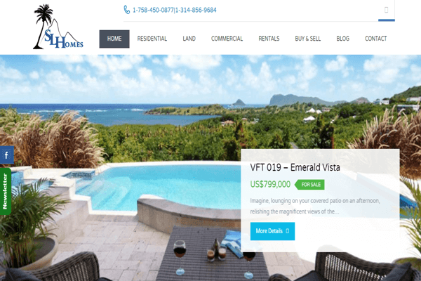 St Lucia Homes